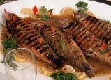سمك مشوي - مطبخ منال العالم