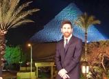 الصحف العالمية تعلق على زيارة ميسي لمصر
