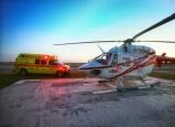 اصابة مسن سقط بمركبته الكهربائية في منحدر بديرحنا