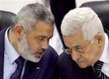 الرئيس الفلسطيني يتلقى اتصالا هاتفيا من هنية