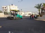 كفرقاسم : الانتهاء من المرحلة الاولى من تعبيد شارع المرحوم الشيخ عبدالله والرئيس عادل بدير