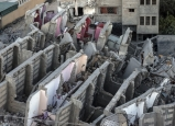 عشية رمضان :21 شهيداً ومئات الاصابات نتيجة القصف الاسرائيلي على قطاع غزة