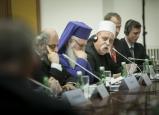 فضيلة الشيخ موفق طريف يلتقي مع أبناء الطائفة الدرزية من سوريا خلال مشاركته في مؤتمر بالمانيا