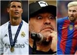 مارادونا يسخر من رونالدو.. ويفضل نفسه على ميسي