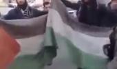 فيديو: شاهد داعش تدوس علم فلسطين
