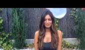 فيديو: شاهد صديقة كاسياس في تحدي دلو الثلج