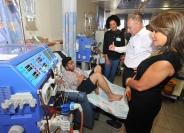 افتتاح السنة الدراسة للطلاب الذين يعالجون في المركز الطبي للجليل