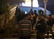 غضب عارم بعد اقتحام المسجد الاقصى واخلاءه من المصلين