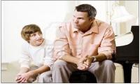 الاباء احيانا وراء اعتياد ابنائهم الكذب …..