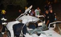 مصرع شاب وإصابة ثلاثة آخرين في حادث طرق مروع