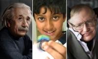 طّفل هندي يتفوّق على العالميْن اينشتاين وهاوكيينغ !