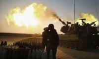 قصف مدفعي على اهداف في قطاع غزة ردًا على مسيرات العودة