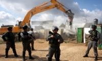 بلدية الاحتلال توزع أمري هدم إداري بحي البستان في سلوان