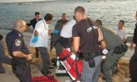 عكا:عربي ينقذ يهودي من الغرق وإصابته حرجة