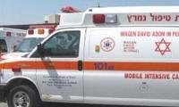 اصابة حرجة لعامل من كسيفه وقع في بئر