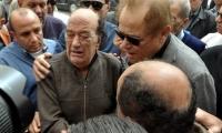 الممثل القدير حسن حسني يشيع جثمان ابنته