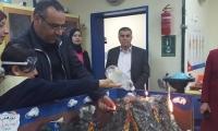 وفد من مفتشي الوزارة يحل ضيفا على مدرسة القدس باقة الغربية