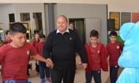 في مدرسة الشافعي الابتدائية الرسمية- باقة الغربية يوم رياضي شائق لجميع طلاب المدرسة وجولات صفية ممتعة