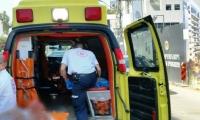 ام الفحم: اصابة في انقلاب خلاط باطون بمنطقة اسكندر