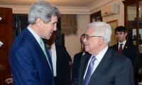 جون كيري يلتقي الرئيس الفلسطيني في رام الله
