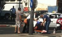 إصابة شخصين في حادث طرق في شارع سلمة بيافا