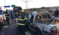 عائدون من العمل : مصرع احمد وتد (30عاما) وناصر ابو فول (26عاما) من جت  بحادث طرق