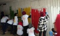 مشاركة واسعة بيوم الاعمال الخيرية في زيمر