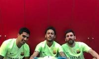 نيمار يختار مدرب برشلونة القادم
