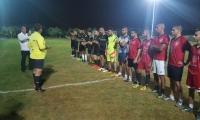 افتتاحية دوري رمضان لكرة القدم في الملعب الجديد