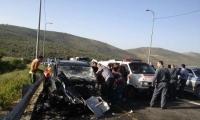 مصرع شخص واصابة 5 آخرين بحادث قرب أريئيل