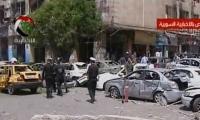 تفجيرات قرب مقر الداخلية بدمشق تخلف 15قتيلاً وأكثر من 70 جريحاً