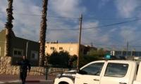 القاء قنبلة صوتية بإتجاه مركز الشرطة في جلجولية