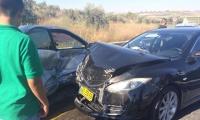 زيمر : حادث سير وقع على مفترق ابثان