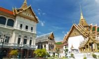 مدينة بانكوك عاصمة مملكة تايلاندا ومينائها الاول