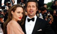 براد بيت وأنجلينا جولي يلغيان زفافهما في فرنسا بسبب إبنهما