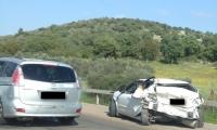 كفر قرع: حادث طرق يسفر عن اصابة شخصين بجراح متفاوتة