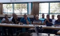 محاضرة تحضيرية حول سلوكيات المراهقين للطاقم التربوي في الطيرة