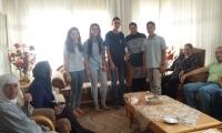 مدرسة غرناطة الثانوية تودع حجاج بيت الله