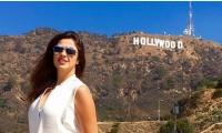 ياسمين عبدالعزيز تستجم بـ«هوليوود».. صور