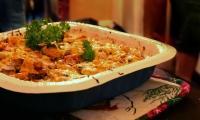 صينية خضار بالدجاج والجبن خطوة خطوة