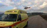 اصابة خطيرة لشاب (24 عاما) سقط عن حصان في يركا