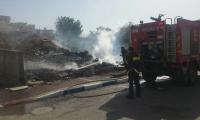 نحف: إندلاع حريق داخل مخزن في محل لبيع الأراجيل