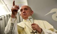 البابا فرنسيس يعرب عن قلقه الشديد حيال