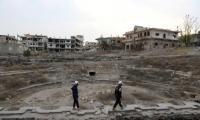روسيا تدعو القوى العظمى إلى المساعدة في إعادة إعمار سورية ورفع العقوبات عنها