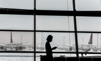 اصابات واضرار اثر إعصار شديد ضرب مطار أنطاليا في تركيا