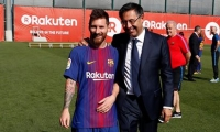 برشلونة يتحدى الأزمات ويقسو على لاس بالماس بثلاثية