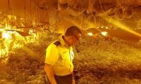 ضبط 50 كلغم مخدرات في مبنى مسقوف قرب المنطقة الصناعية العفولة واعتقال مشتبهين من عكا ... صور وفيديو