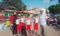 فوز مدرسه بير السكه في سباق الحقل للمدارس العربية