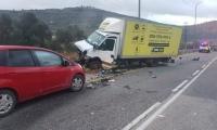 مصرع شخصين وإصابة آخر بحادث طرق مروع بمنطقة الضفة الغربية