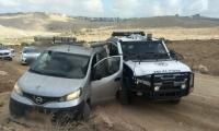 اعتقال مشتبه فلسطيني (20 عامًا) بسرقة سيارة في منطقة رنتيس